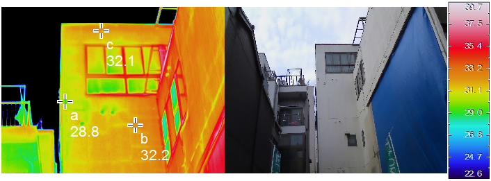 赤外線調査 神戸市内